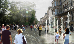 Magdalen Street in the future (click to enlarge)